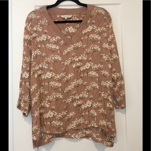 Anthropologie PART TWO  Floral Print Top